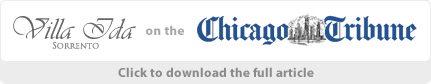 Villa Ida Sorrento on the Chicago Tribune Full Article